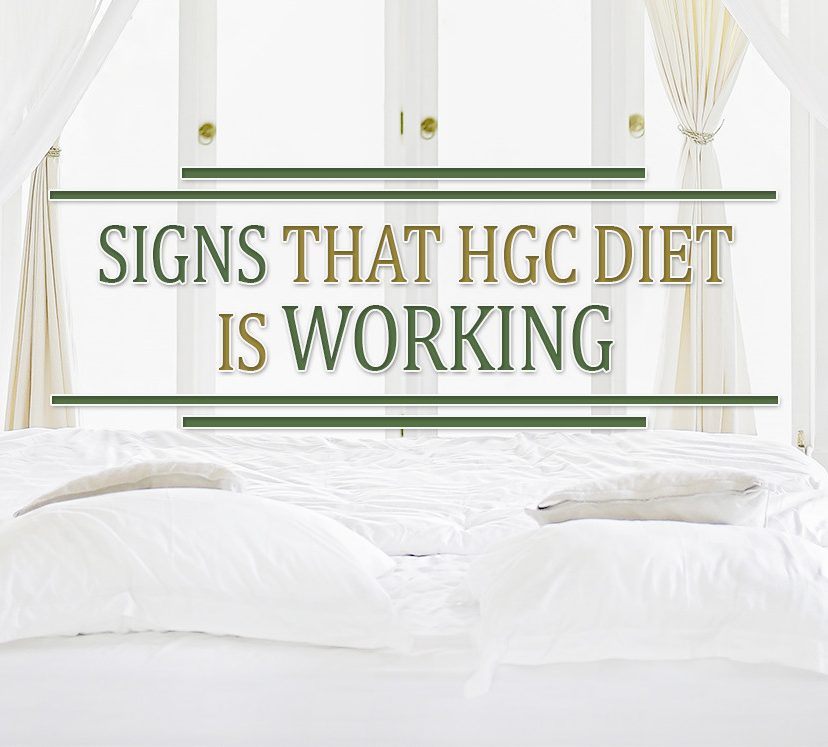 Signs That HGC Diet is Working
