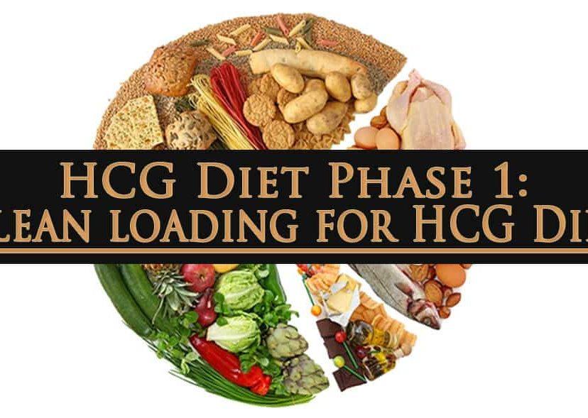HCG Diet Phase 1 Clean loading for HCG Diet