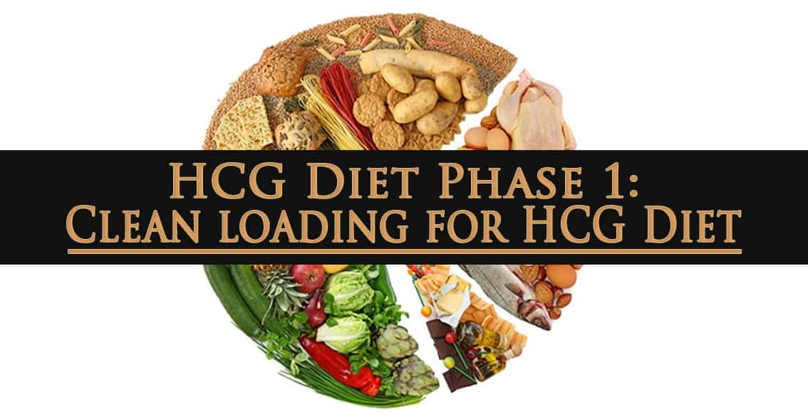 HCG Diet Phase 1: Clean loading for HCG Diet