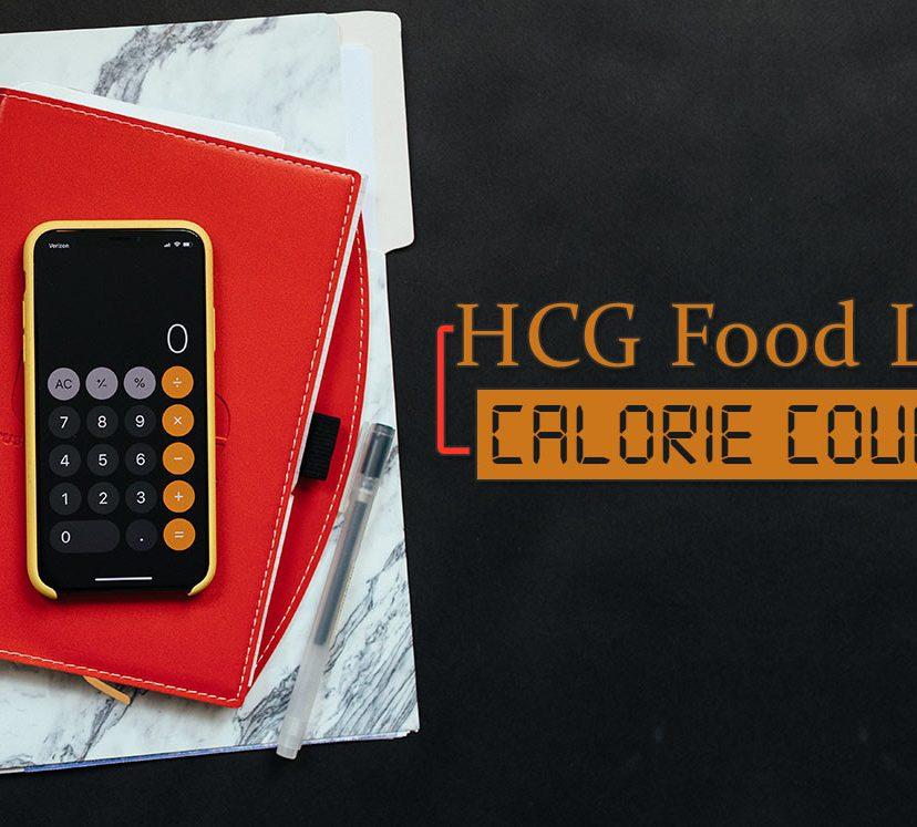 HCG Food List Calorie Count