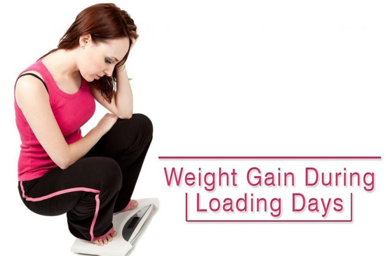 Weight Gain During Loading Days