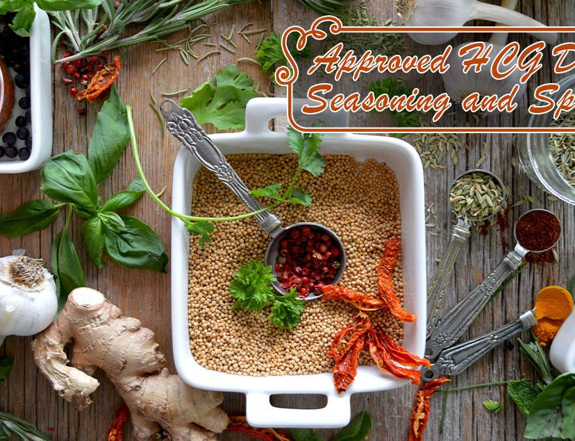 Approved HCG Diet Seasoning and Spices