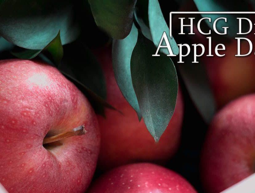 HCG Diet Apple Day