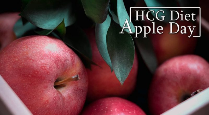 HCG Diet Apple Day