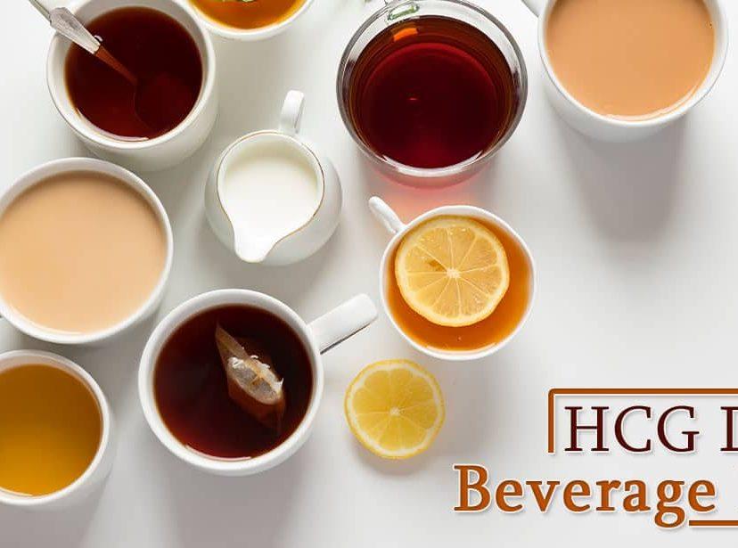 HCG Diet Beverage List