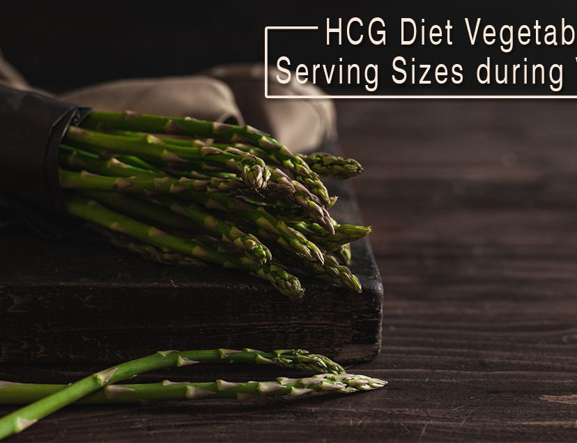 HCG Diet Vegetable Serving Sizes during VLCD