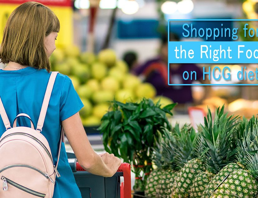 Shopping for the Right Food on HCG diet