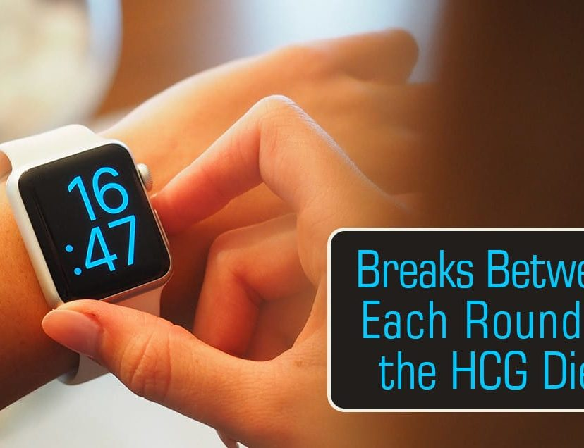 Breaks Between Each Round of the HCG Diet