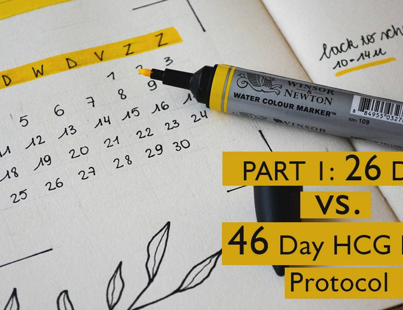 PART 1: 26 Day vs. 46 Day HCG Diet Protocol