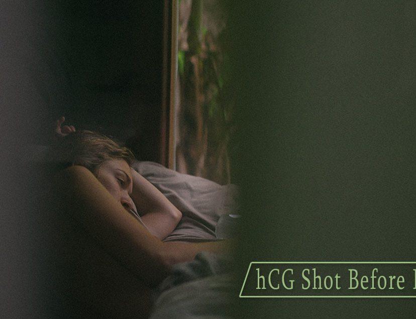 hCG Shot Before Bedtime