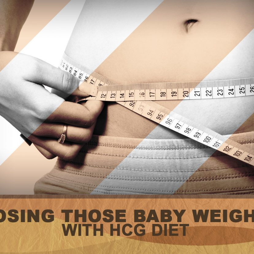 LOSING THOSE BABY WEIGHT WITH HCG DIET