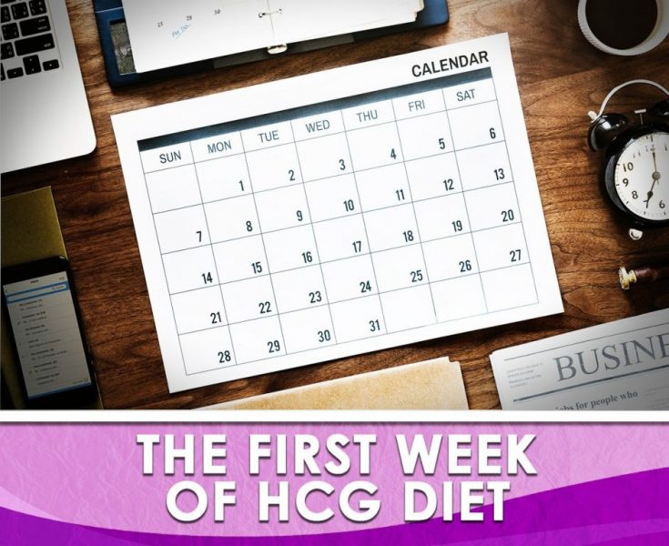 The First Week of the HCG Diet