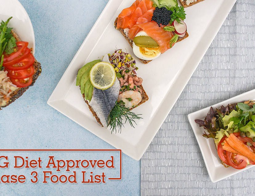 HCG Diet Approved Phase 3 Food List