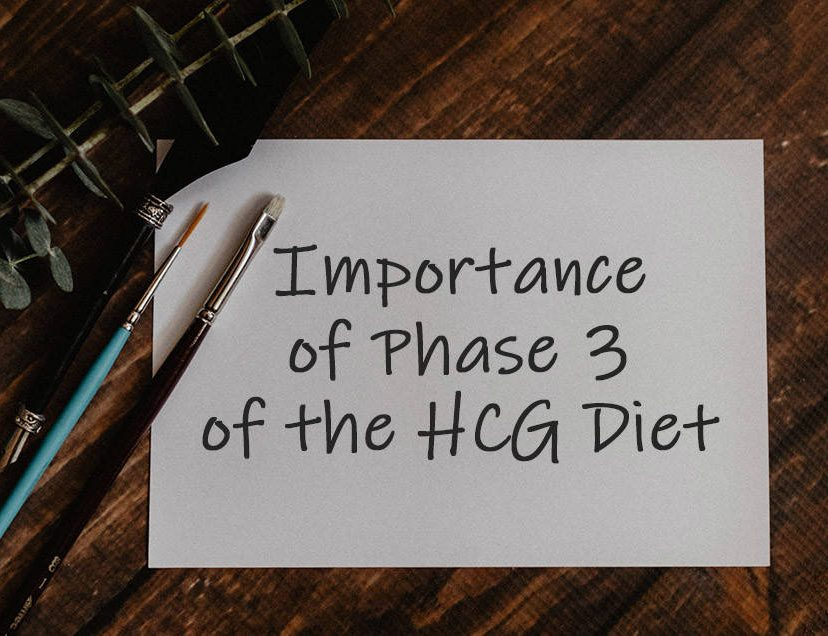 Importance of Phase 3 of the HCG Diet