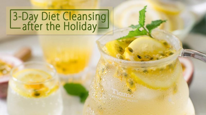 3-Day Diet Cleansing after the Holiday