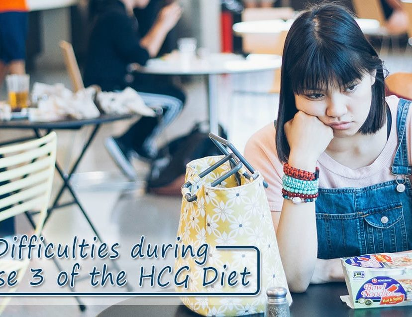 Difficulties during Phase 3 of the HCG Diet