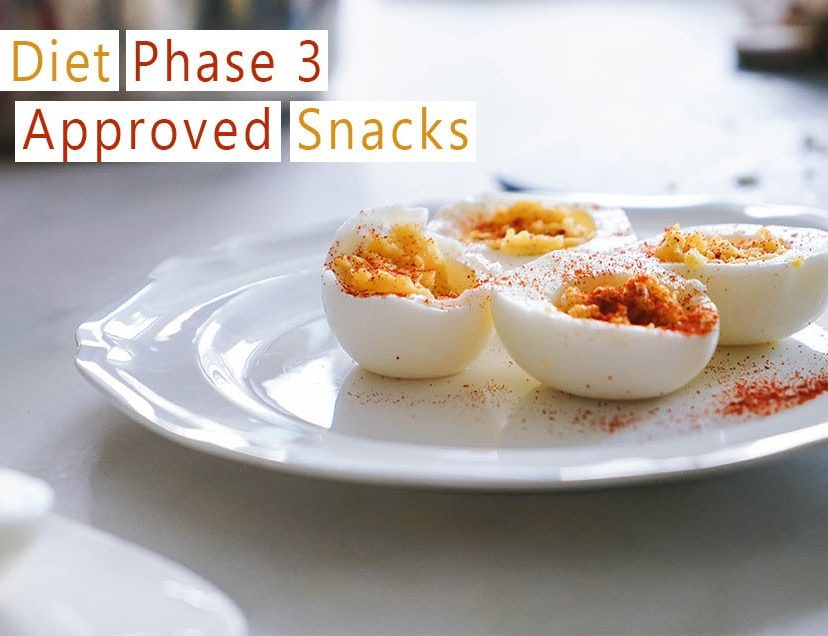 HCG Diet Phase 3 Approved Snacks