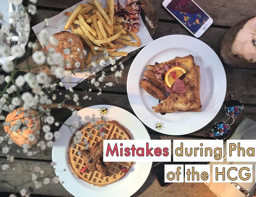 Mistakes during Phase 3 of the HCG Diet