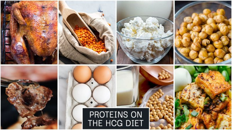 Proteins on the HCG Diet
