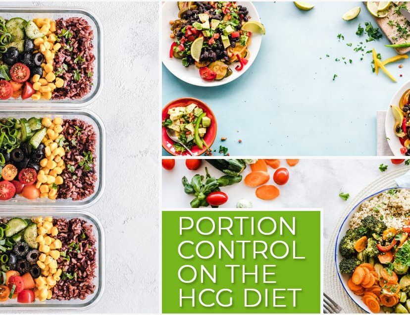Portion Control on the HCG Diet