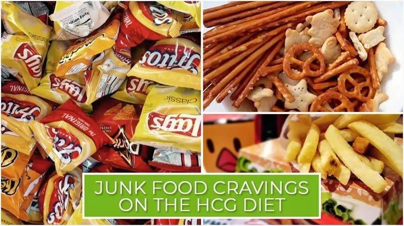 Junk Food Cravings on the HCG Diet