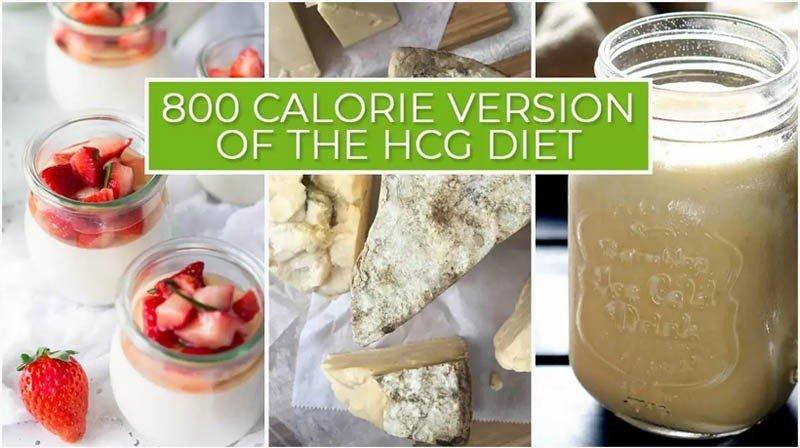 800 Calorie Version of the HCG Diet