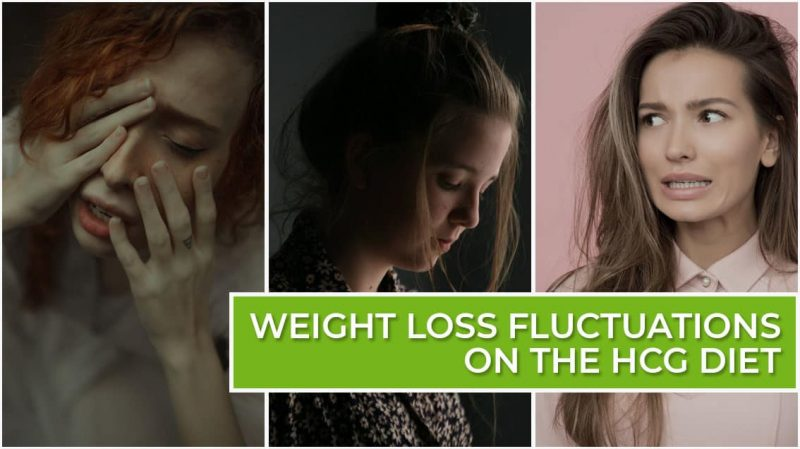 Weight Loss Fluctuations on the HCG Diet