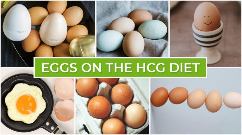 Eggs on the HCG Diet