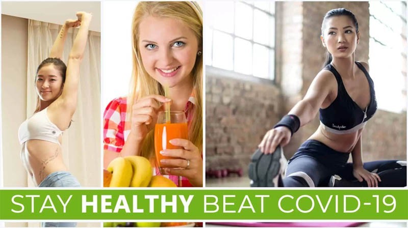 Stay Healthy Beat COVID-19