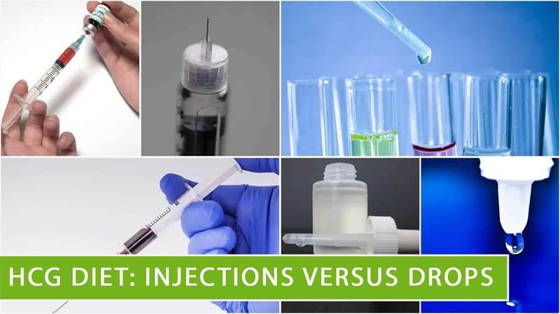 HCG Diet: Injections versus drops