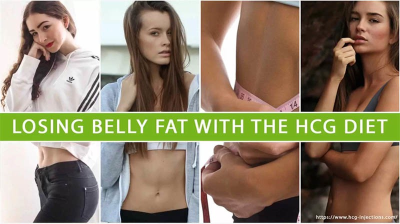 Losing Belly Fat with the HCG Diet