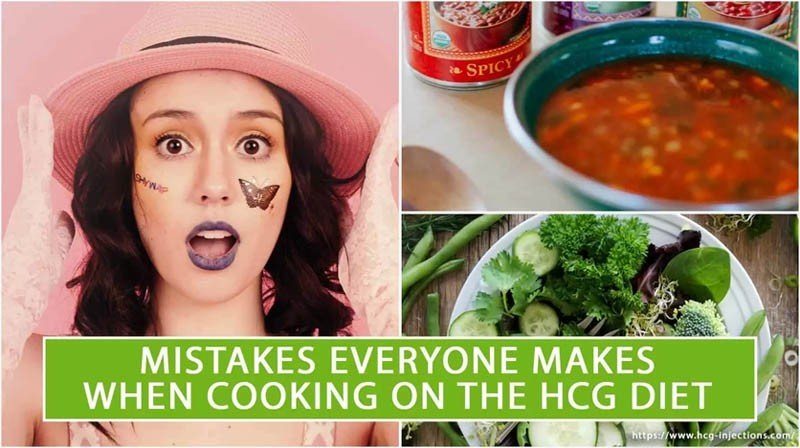 Mistakes Everyone Makes When Cooking on the HCG Diet