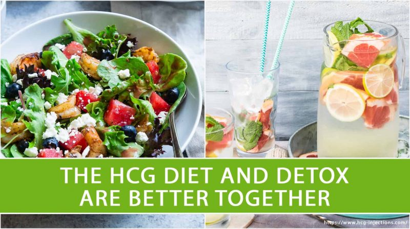 The HCG Diet and Detox are Better Together
