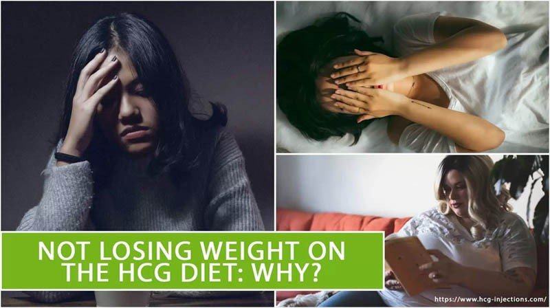 Not Losing Weight on The HCG Diet: Why?