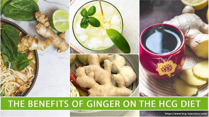 The Benefits of ginger on the HCG Diet