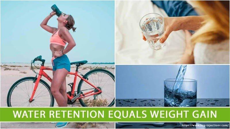 Water Retention Equals Weight Gain