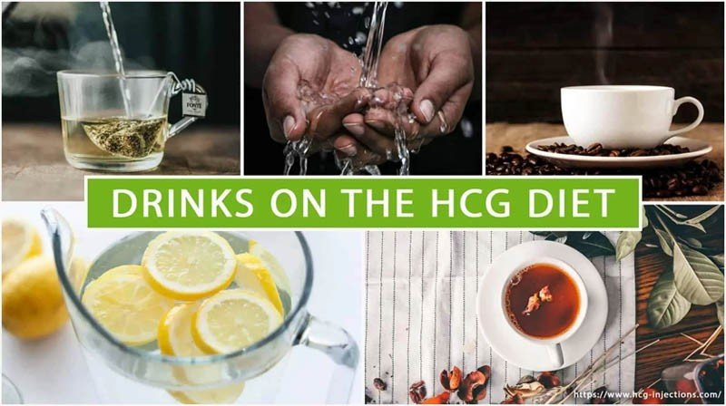Drinks on the HCG Diet