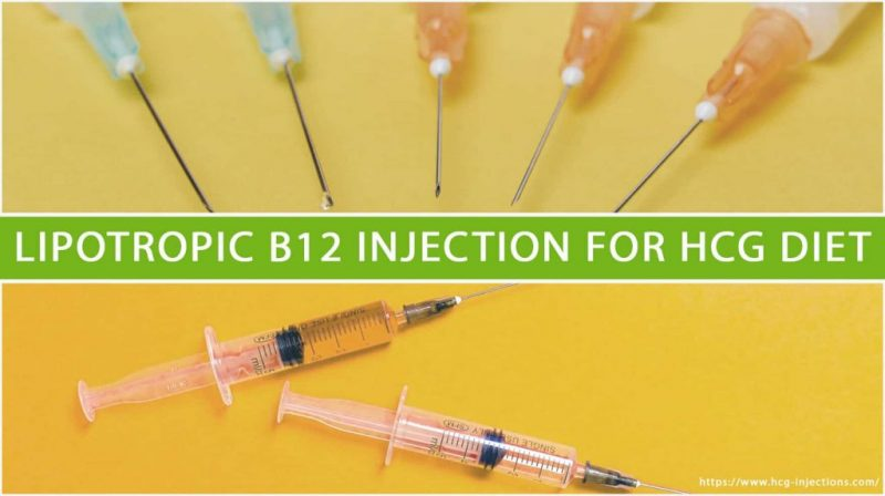 Lipotropic B12 injection for HCG Diet
