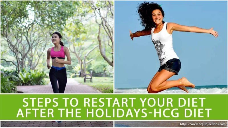 Steps to Restart your diet after the Holidays-HCG Diet