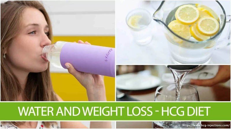 Water and Weight Loss – HCG Diet