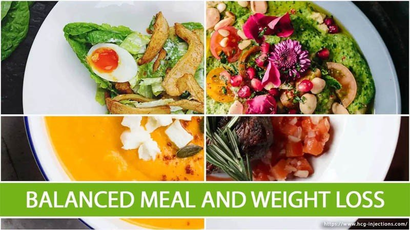 Balanced Meal and Weight Loss