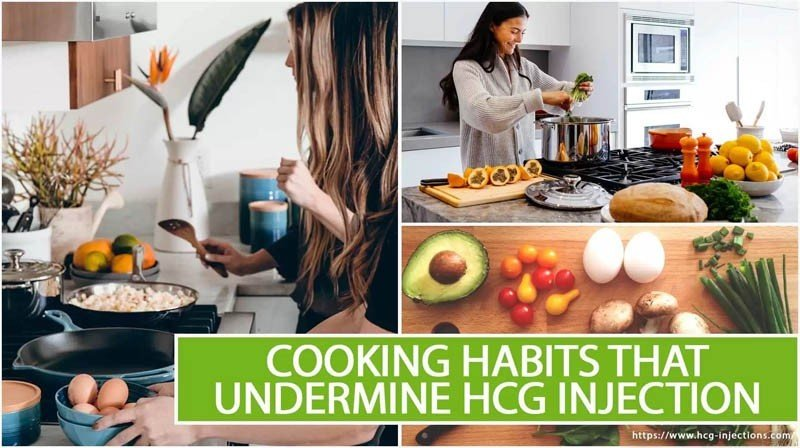 Cooking Habits That Undermine HCG Injection