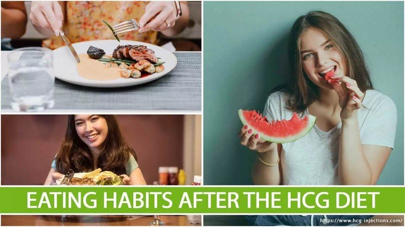 Eating Habits After the HCG Diet