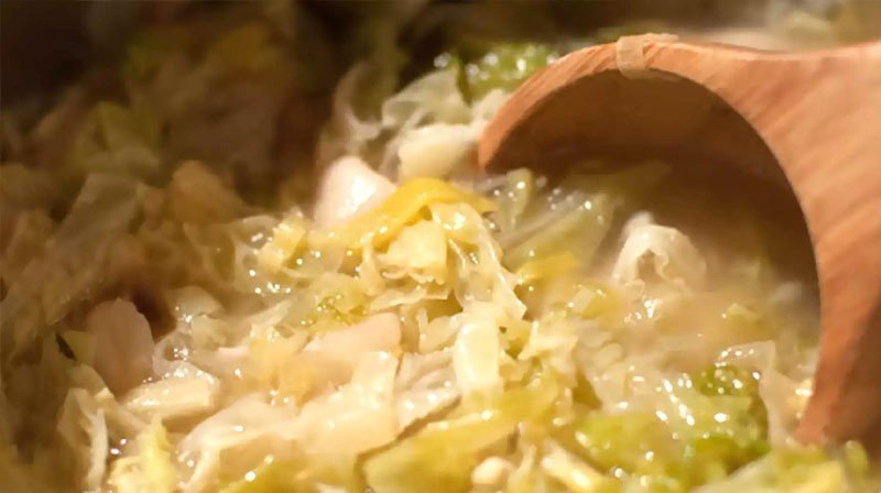 Chicken and Cabbage Soup