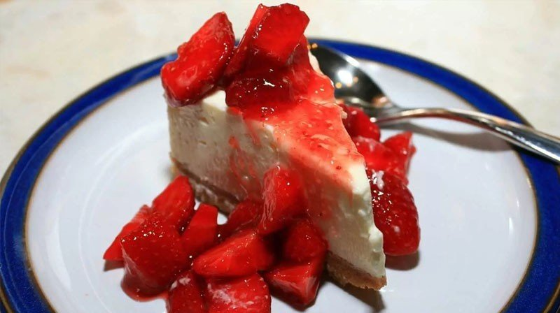 Strawberry Cheesecake for Phase 2 or phase 3