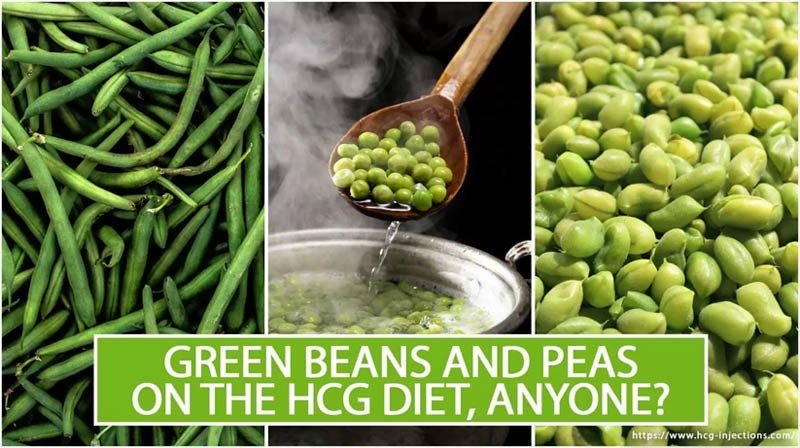 Green Beans and Peas on the HCG Diet, Anyone?
