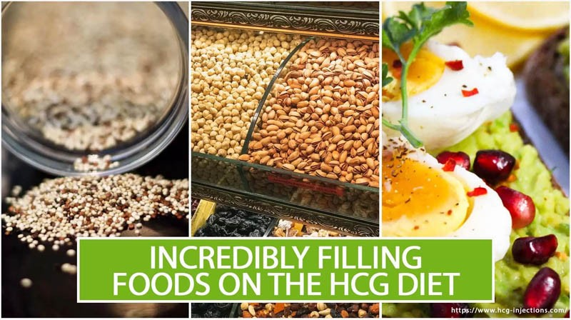 Incredibly Filling Foods on the HCG Diet