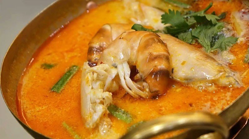 Spicy Shrimp in Tomato Soup