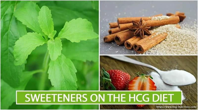 Sweeteners on the HCG Diet