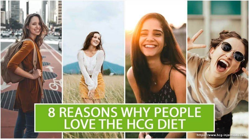 8 Reasons Why People Love The HCG Diet